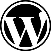 Logo de WordPress... Esto es un pie de foto, claro.